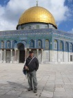 At Dome of the Rock