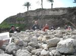 Around Altar at Megiddo