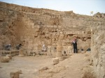 Archaeologists at Herodium