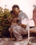 With my Grandad