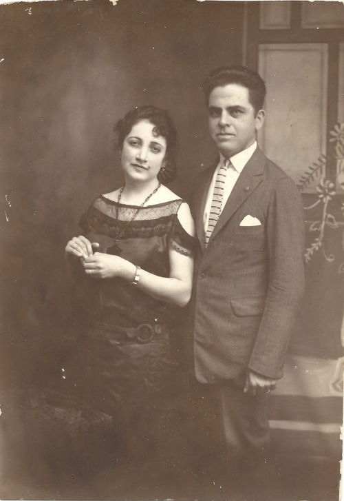 My grandparents, Lucy and Felipe Garcia.