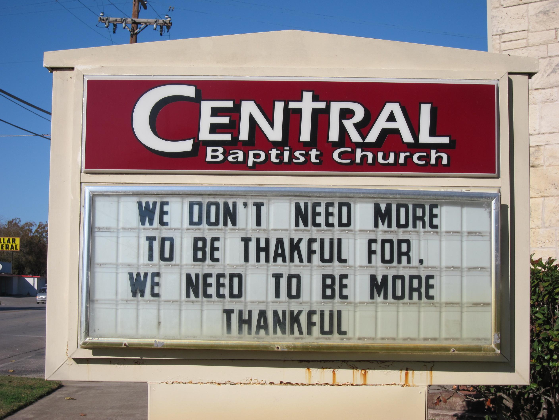 christian humorous signs