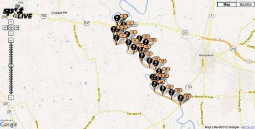 Brazos River Training Run