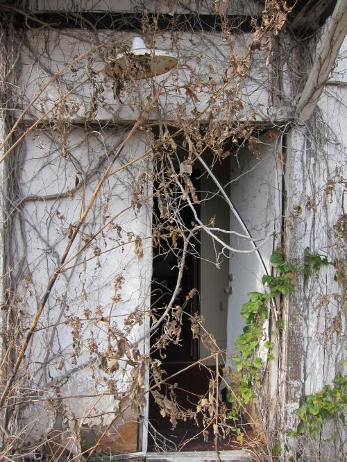Old Church Front Door