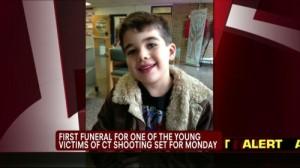Sandy Hook First Funeral