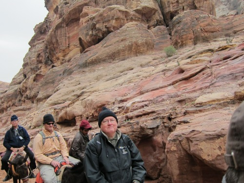 Donkey Ride at Petra
