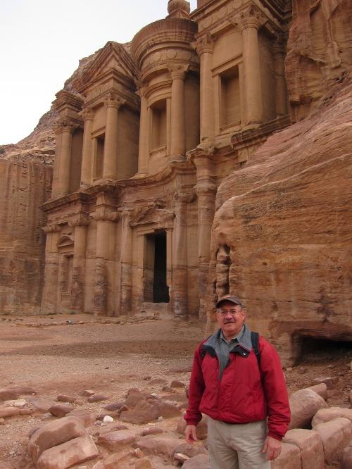 Omar at Monastery
