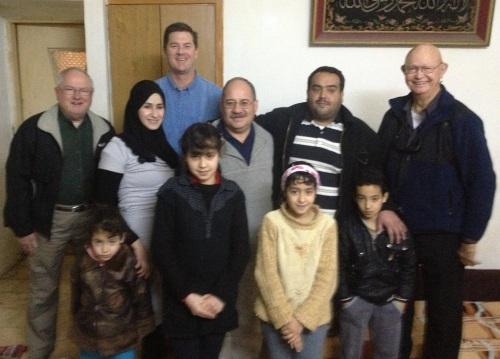 Syrian Family in Jordan
