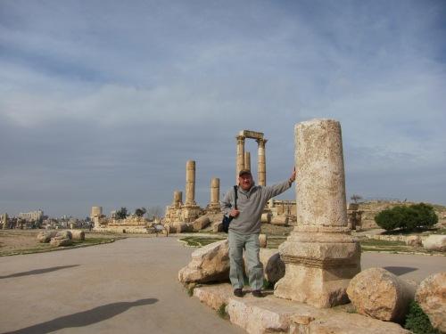 At the Temple of Hercules. | Amman, Jordan