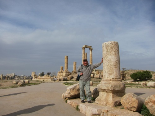 At the Temple of Hercules. | Amman, Jordan