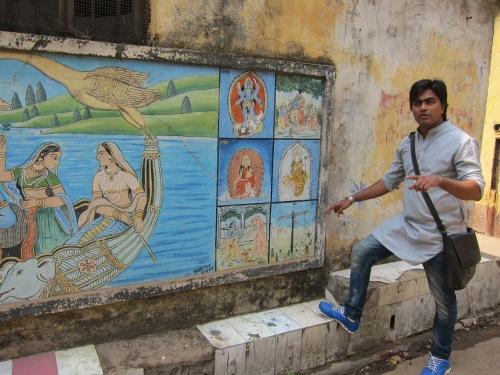 Ifte, our Calcutta Walks guide, unlocks doors of understanding.