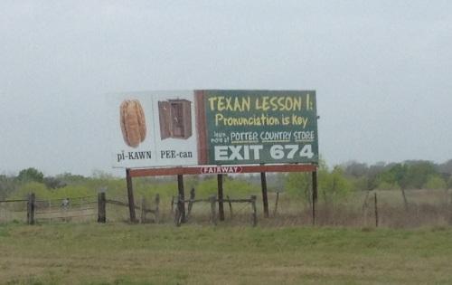 Pecan Billboard
