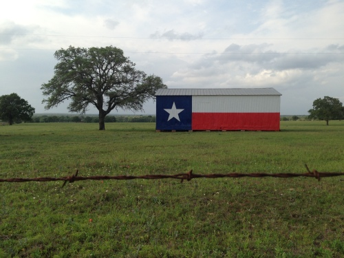Texas Flag House
