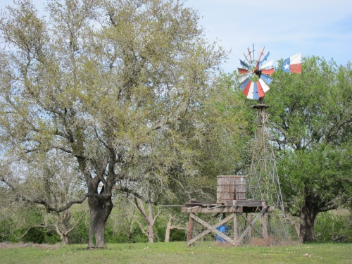 Texas Windmill Landscape