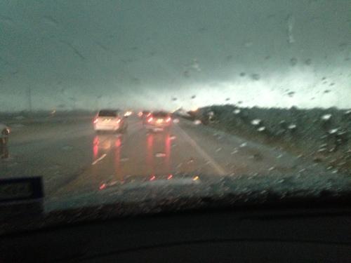 Rainy Road I-10
