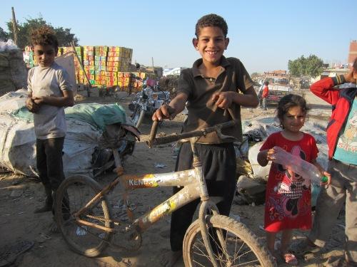 Zabbaleen Bike Boy