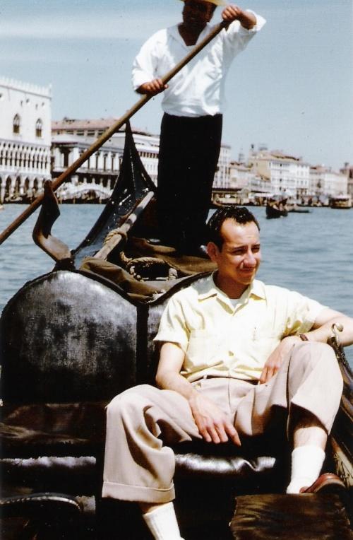 Dad in Venice