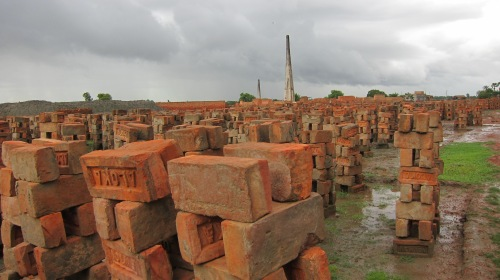 Brick Kiln View