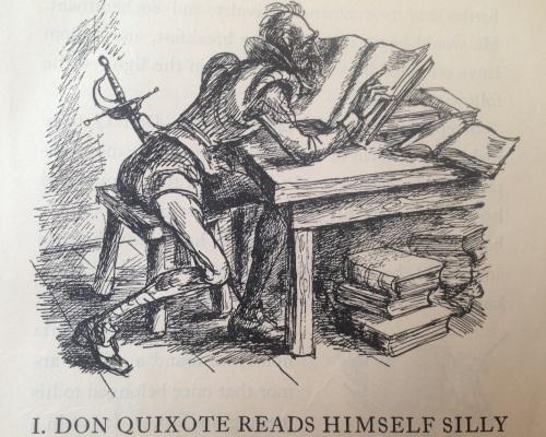 Don Quixote Reads