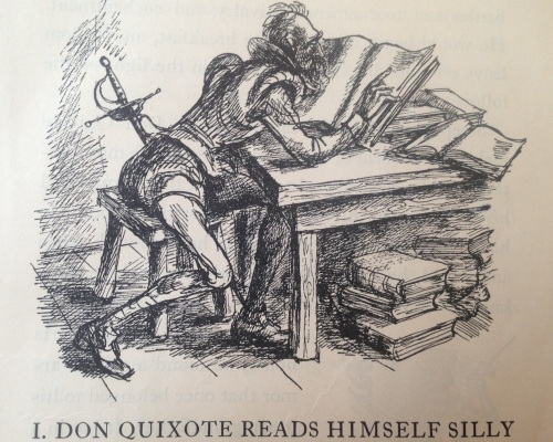 Don Quixote Reads