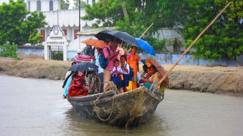 Sundarbans Rain Boat
