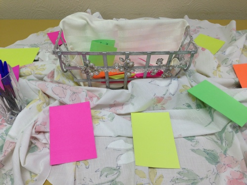 Grace Prayer Basket