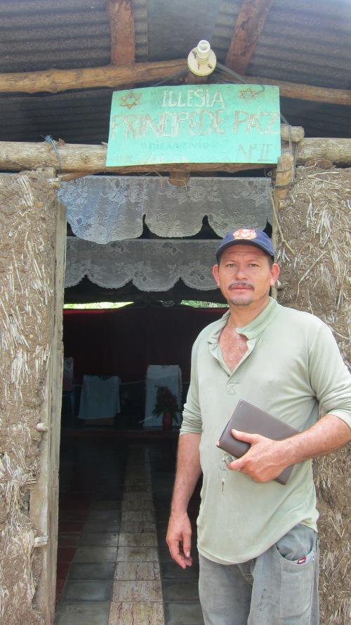 Pastor Marcos at Church