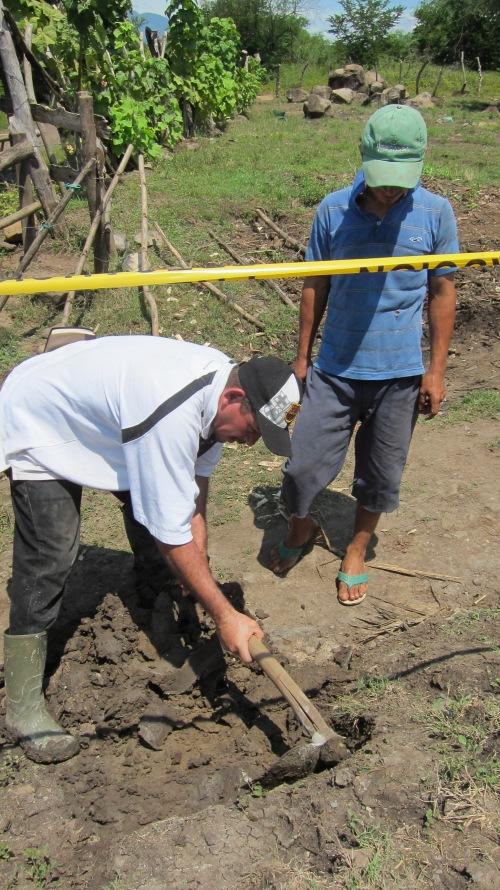 Pastor Marcos Digging
