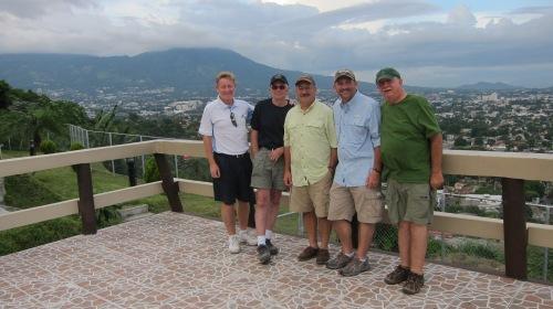 Team in San Salvador