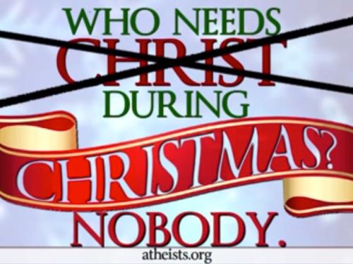 Who Needs Christ