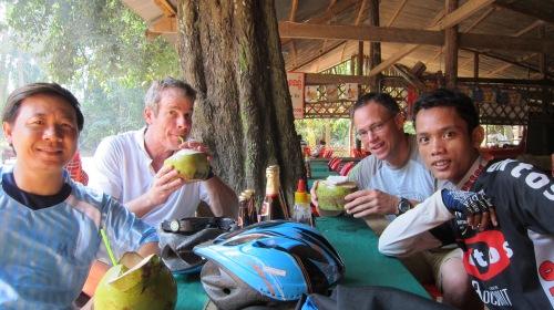 Bike Coconut Break
