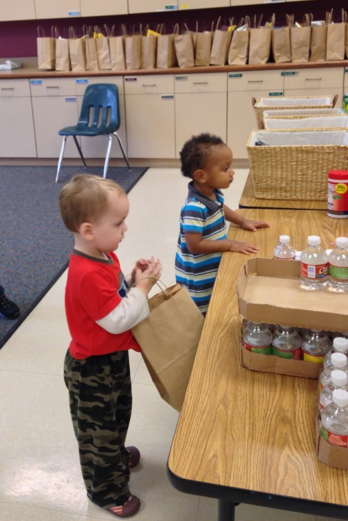 Preschool Bags for Homeless