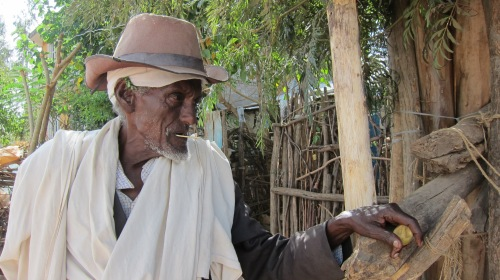 Old Ethiopian Man