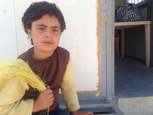 Syrian Refugee Boy in Lebanon