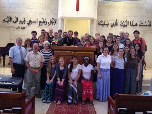 Team at Church