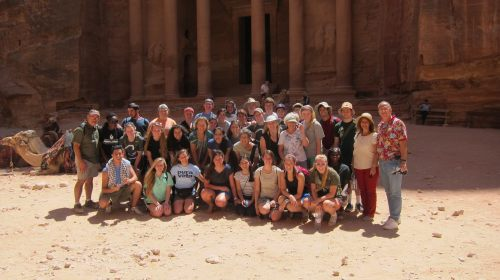 Team at Petra