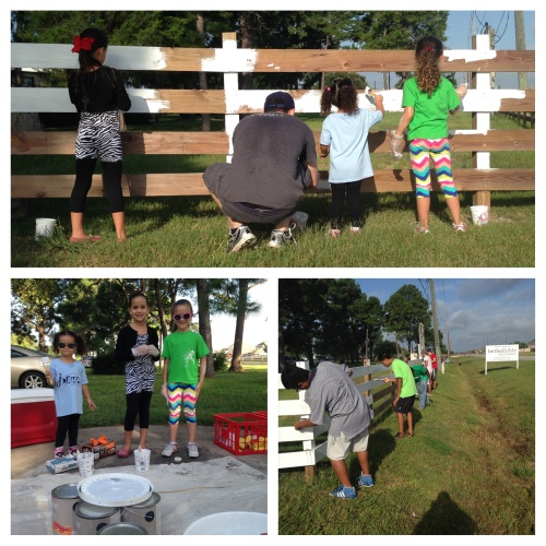 Bethel Fence Painting