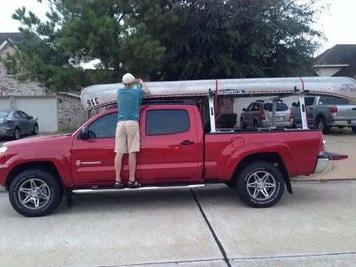 Canoe on Doyle's Truck