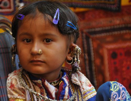 Gujarati girl | 03 May 2009 | India
