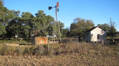 Windmill & House