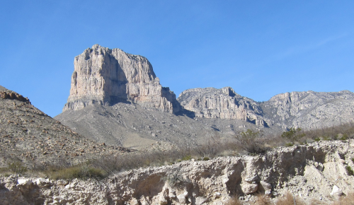 El Capitan, the signature peak at Guadalupe Mountains National Park.