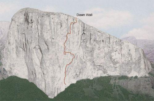 El Capitan Yosemite Climbing Route