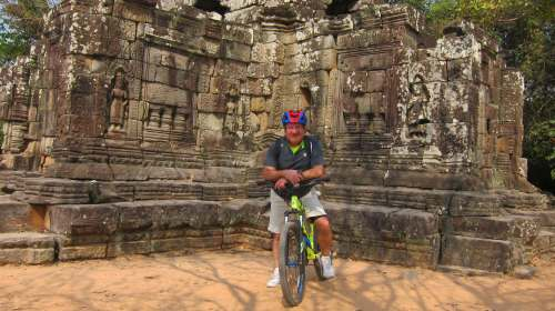 Omar at Jungle Temple