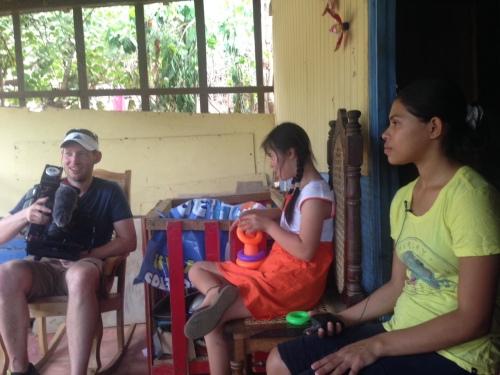Visiting Lupita