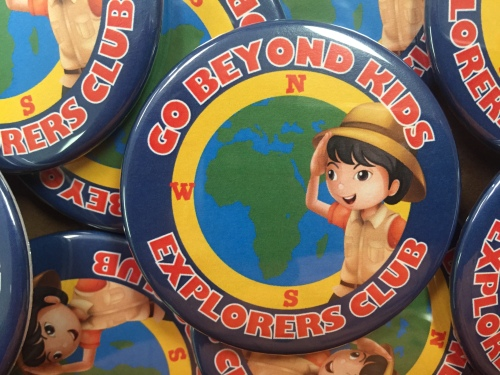 Go Beyond Kids Explorers Club Button