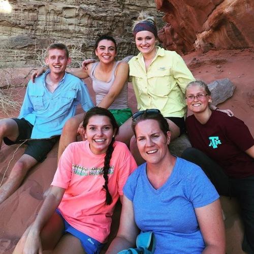 Team at Wadi Rum