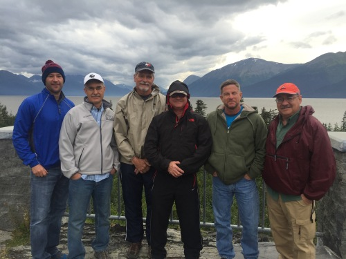 Alaska Team near Turnagain Arm