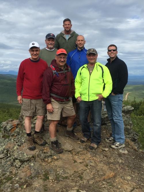 Alaska Team on Mountain