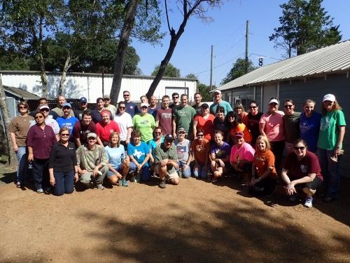 KBC Staff at Manna House