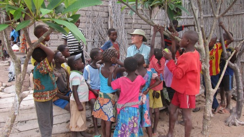 Terry and Kids in DRC